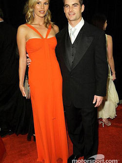 Jeff Gordon avec sa petite amie