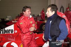 Jean Todt with René Arnoux