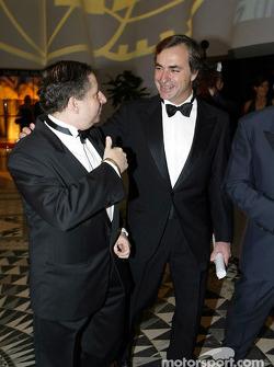 Carlos Sainz and Jean Todt