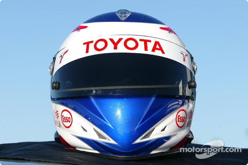 Olivier Panis' new helmet design