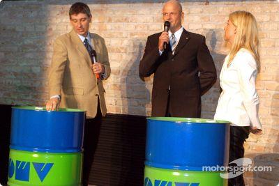 Presentación del OMV World Rally Team