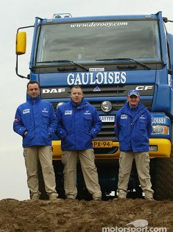 Assistance team: Yvo Geusens, Dick Spruijt, Robert van den Broek