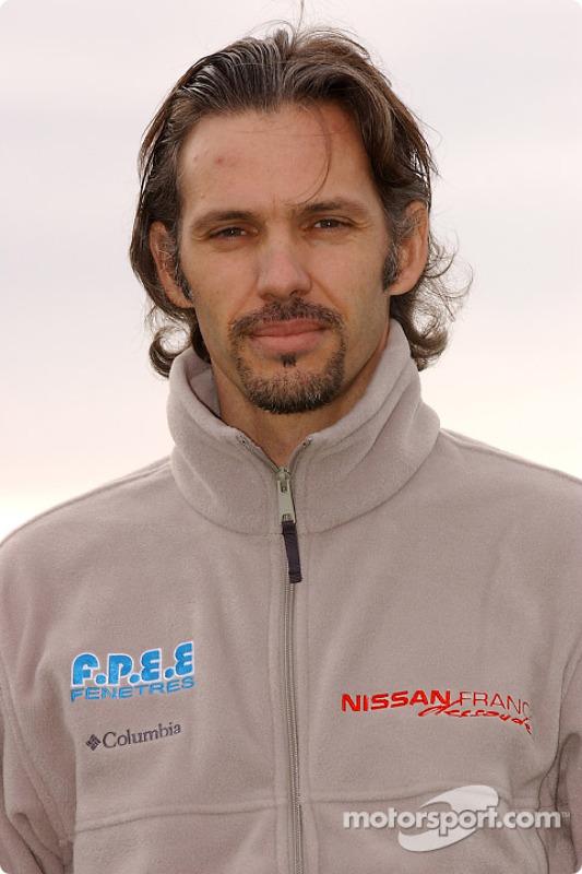 Présentation de l'équipe Nissan Dessoude : Paul Belmondo