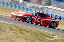 #17 AASCO Motorsports Porsche GT3 Cup: Mark Webber (2), Joe Kunz, y #16 AASCO Motorsports Porsche GT3 Cup: Craig Stanton, David Murry