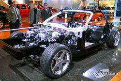 Le châssis de la Corvette 2005