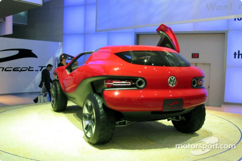 Volkswagen Concept T At North American International Auto Show Detroit