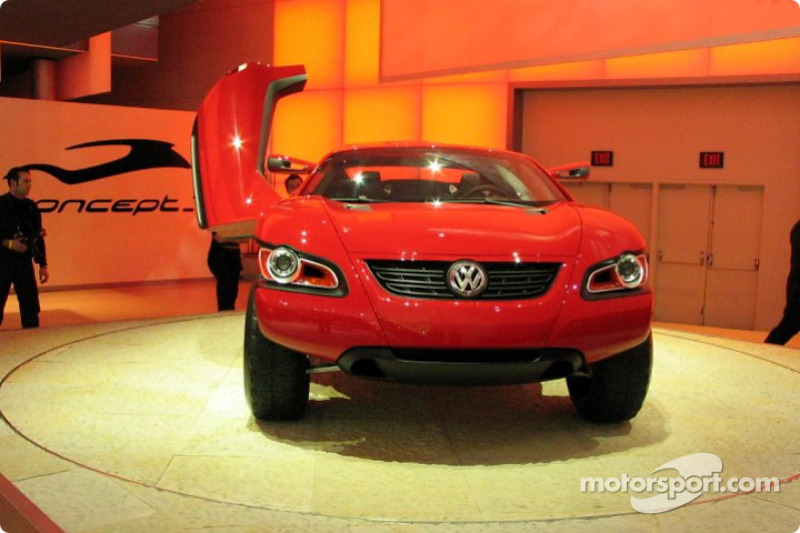 Volkswagen Concept T At North American International Auto Show