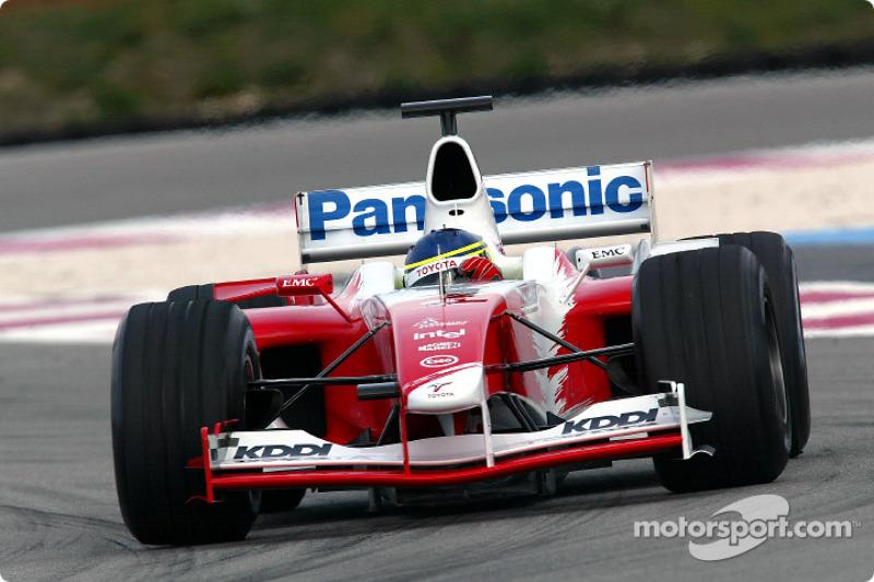 2004: Toyota TF104