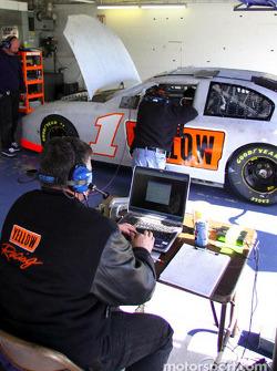 Phoenix Racing garage