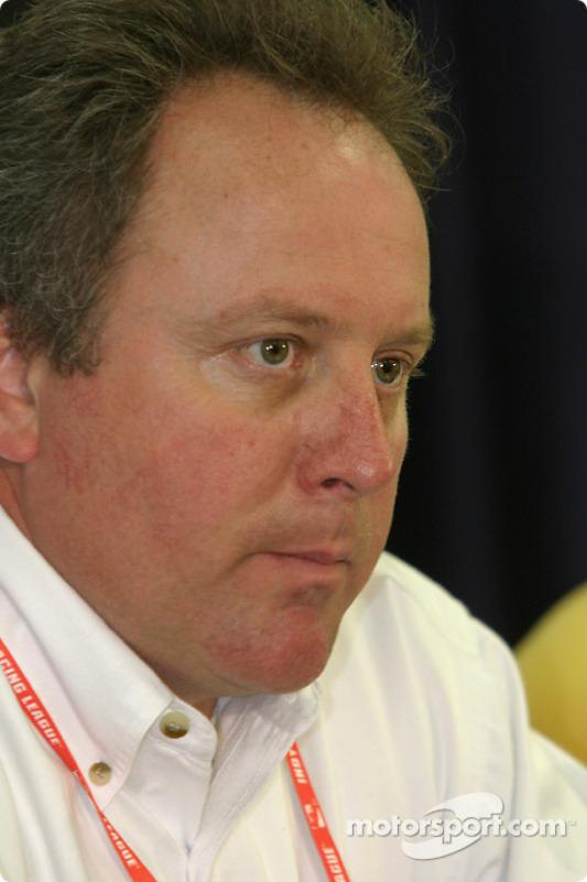 Delphi press conference: IRL VP of operations Brian Barnhart