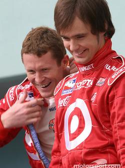 Photo shoot with IRL Toyota drivers: Scott Dixon and Darren Manning