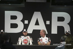 Jenson Button and David Richards