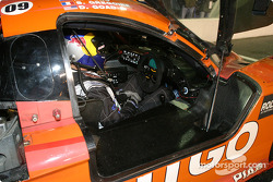 #09 Spirit of Daytona Racing Chevrolet Crawford: Doug Goad, Stephane Gregoire, Robby Gordon, Milka Duno in the pit