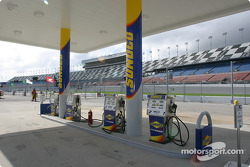New colors for the fuel station