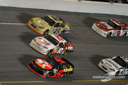 Jamie McMurray, Mike Skinner and Ken Schrader
