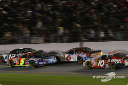 Ryan Newman, Terry Labonte, Mark Martin and Mike Skinner