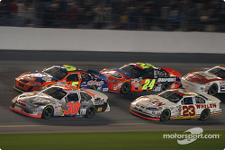 Elliott Sadler, Terry Labonte, Jeff Gordon and Dave Blaney