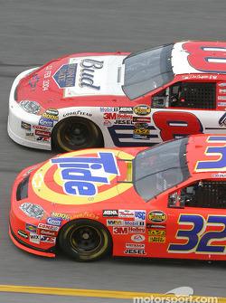 Dale Earnhardt Jr. y Ricky Craven