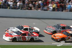 Dale Earnhardt Jr., Elliott Sadler, Tony Stewart and Sterling Marlin