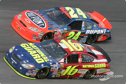 Greg Biffle and Jeff Gordon