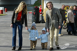 Luca di Montezemelo and family