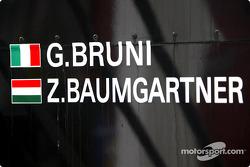 Detail of the Minardi