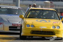L'Acura Integra R n°61 du Colletti Motorsports (Mark Eaton, Steve Colletti)