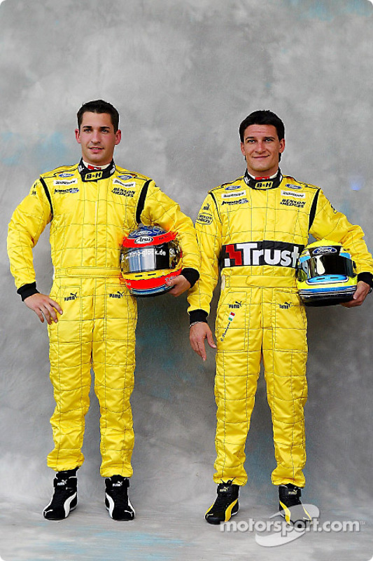 Photoshoot : Timo Glock et Giorgio Pantano