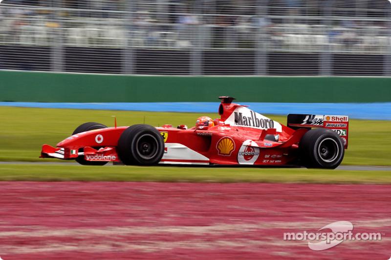 2004. Переможець: Міхаель Шумахер, Ferrari