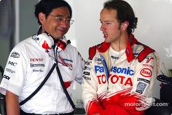 Keizo Takahashi and Cristiano da Matta