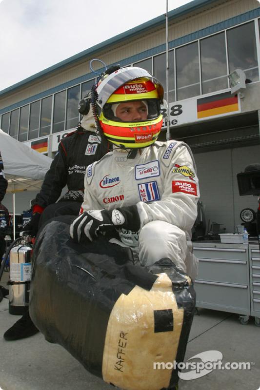 Pierre Kaffer attend le changement de pilote