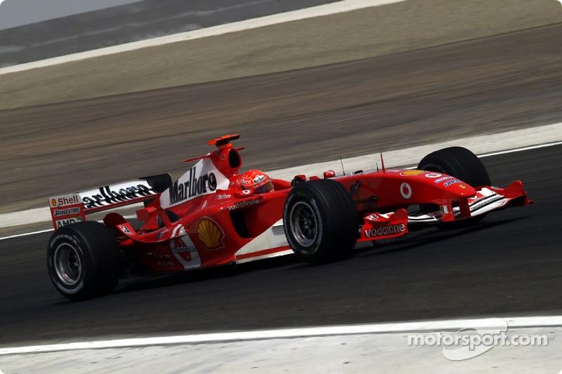 #58 GP de Bahreïn 2004 (Ferrari F2004)