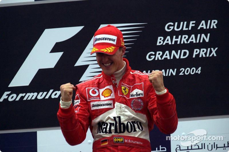 Подіум: переможець Міхаель Шумахер