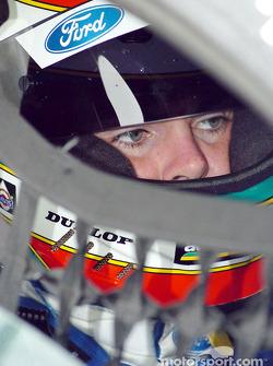 A pensive Craig Lowndes