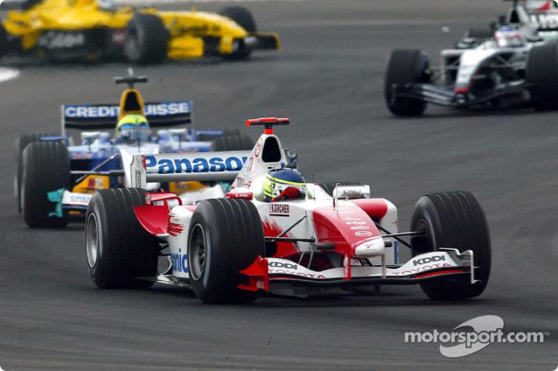 Cristiano da Matta, Toyota TF104B