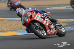 #45 JLC Moto Ulteamatum Suzuki GSXR: Amaury Baratin, Emmanuel Thuret, Emmanuel Cheron