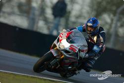 #199 Team Moto et Motards Suzuki GSXR: Frank Donzelli, William Milios, Yacouba Galle