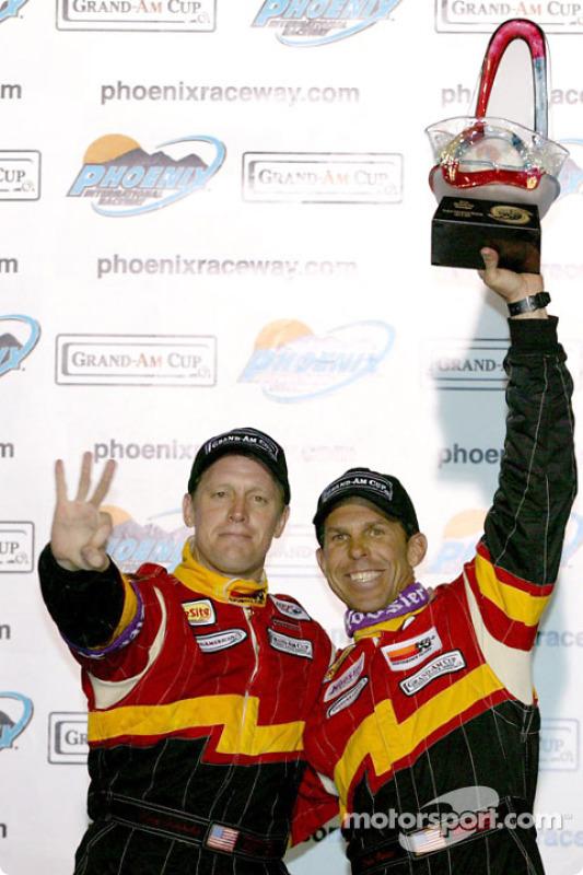 Les vainqueurs Craig Stanton et Terry Borcheller sur le podium