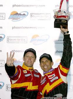 Podium: race winners Craig Stanton and Terry Borcheller