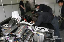 Moteur de l'Audi Sport Japan Team Goh Audi R8
