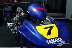 World SuperKart paddock