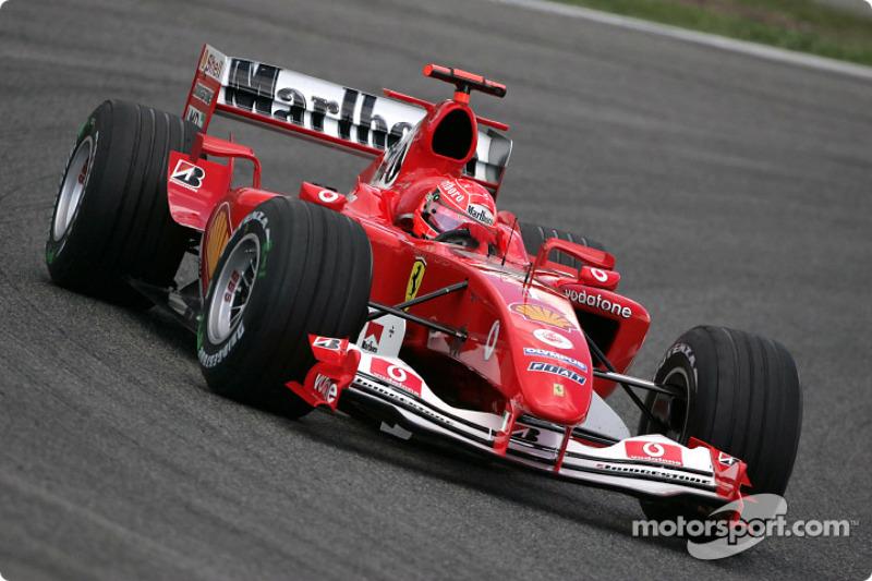 2004: Мichael Schumacher, Ferrari F2004