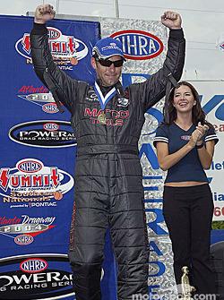 Funny Car winner Whit Bazemore
