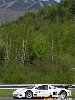 La BMW Picchio n°80 du G&W Motorsports (Hugo Guénette, Jacques Guénette Sr., Philippe Létourneau)