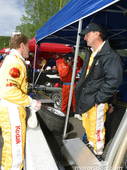 Terry Borcheller and Andy Pilgrim