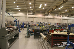 Visit of Hendrick Motorsports: one of the many shops
