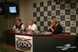 Press conference: Scott Roembke, Bobby Rahal and David Letterman
