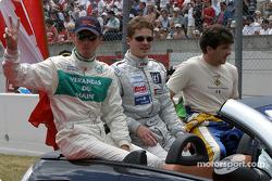 Présentation des pilotes : Jean-Bernard Bouvet, Tristan Gommendy, Bastien Brière