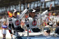 Presentación de pilotos: Takuma Sato y Jenson Button