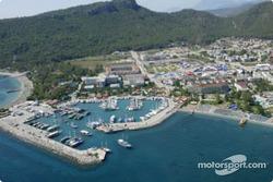 The Kemer coastal service park